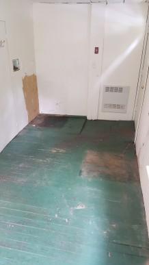Farmhouse floor before